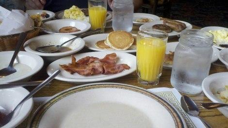 breakfast/dillard, ga/august 2012