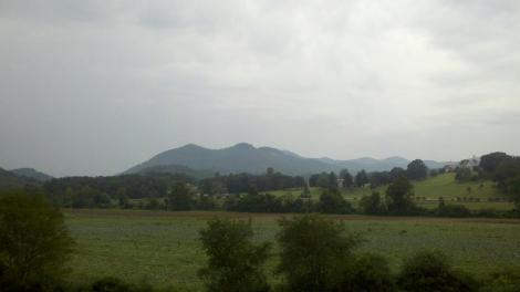 fields + mountains/dillard, ga/august 2012