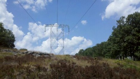 clouds + electricity/poconos/july 2012