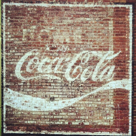old coke sign/athens, ga/august 2012