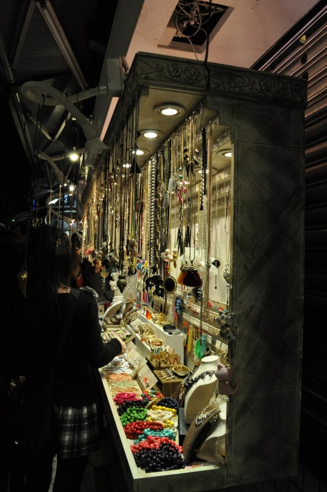 need a necklace to go with that new sweater?/shida night market, taipei/dec 2012