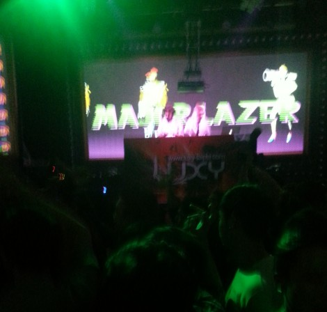 major lazer/luxy, taipei/dec 13, 2012