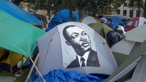occupy dc tent/washington dc/nov 2011
