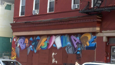 BE WHO YOU ARE/dekalb ave, bed-stuy, bklyn/may 2012