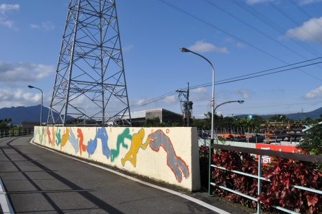 taipei's version of keith haring?/taipei circle trail/jan 2013