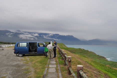 peeps + van where mountains meet the sea/hualien, taiwan/jan 2013