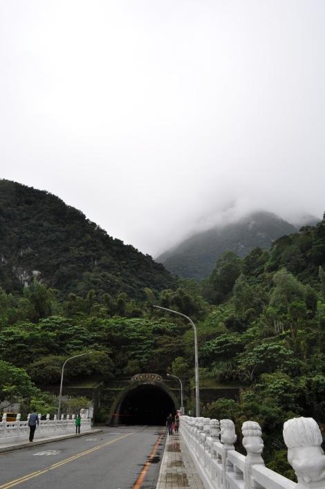 lion bridge/hualien, taiwan/jan 2013
