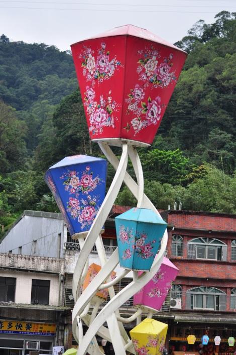 lantern sculpture/pingxi, taiwan/jan 2013
