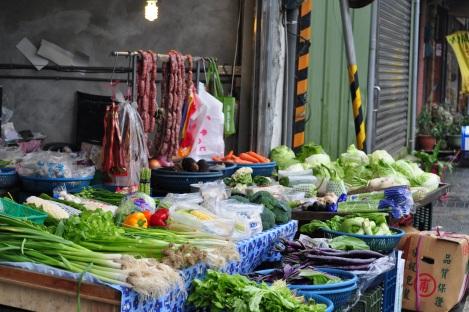 market/pingxi, taiwan/jan 2013