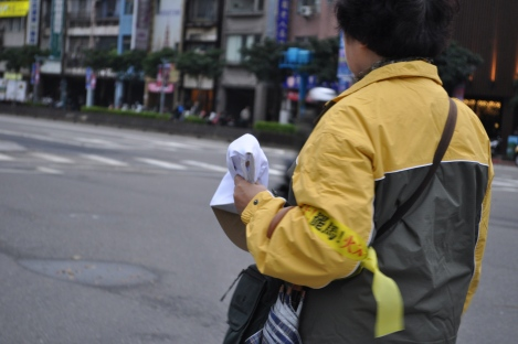 armbands/fury rally, taipei/jan 2013