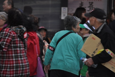 people of all ages participated/fury rally, taipei/jan 2013