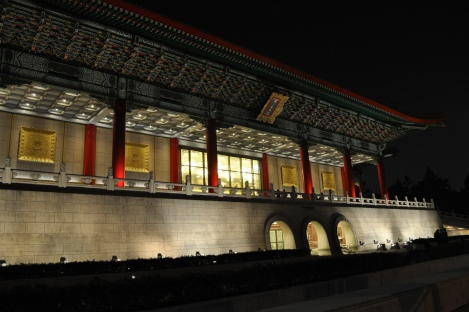 concert hall at night (obv)/taipei/dec 2012
