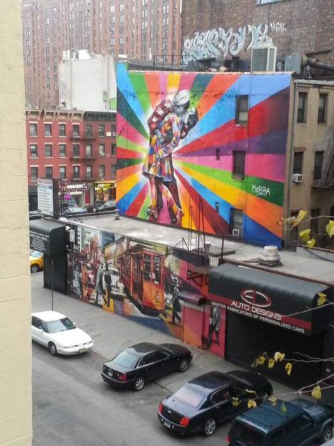 snapped from high line/nyc/dec 2012