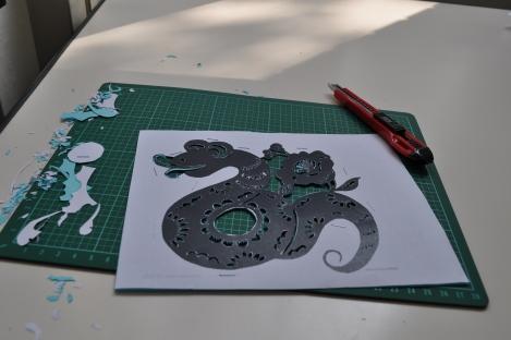 i chose a snake/iclp, taipei/feb 7, 2013