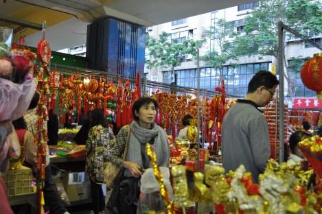 new years decorations/da'an, taipei/jan 2013