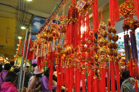 decorations/da'an, taipei/jan 2013