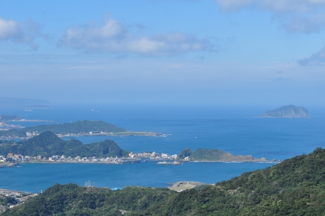 breathtaking view from jiufen/jiufen, taiwan/dec 28, 2012