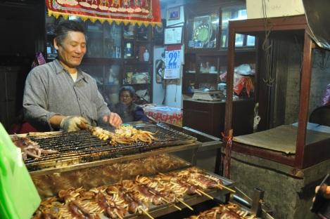 we bought delish squid here!/pinxi, taiwan/feb 2013