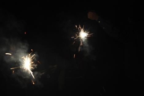 we found sparklers!/pinxi, taiwan/feb 2013