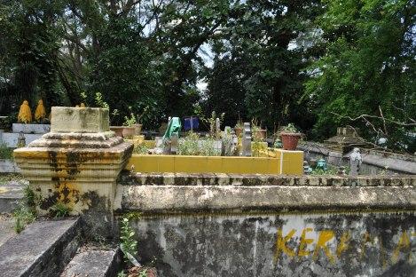 sultan's burial ground near the arab quarter/singapore/march 2013
