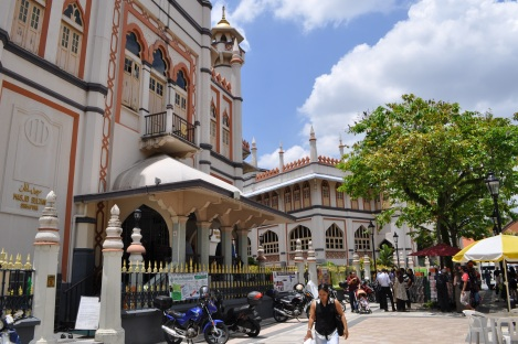 masjid sultan mosque/arab quarter, singapore/march 2013