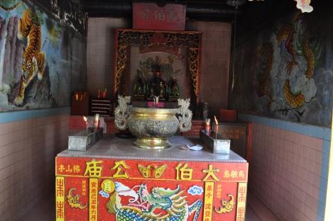 temple shrine/pulau ubin, singapore/march 2013