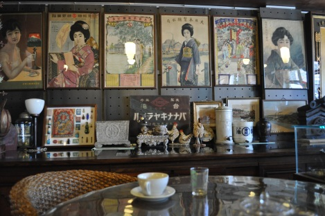 most of my interviews are held in cafes over coffee or tea/formosa museum cafe, taipei/july 2013