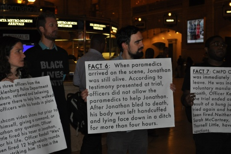 Peoples Monday takes Grand Central for #JonathanFerrell \\ APPLES&AZALEAS