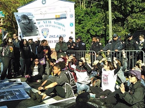 Rikers Protest 10/23/2015