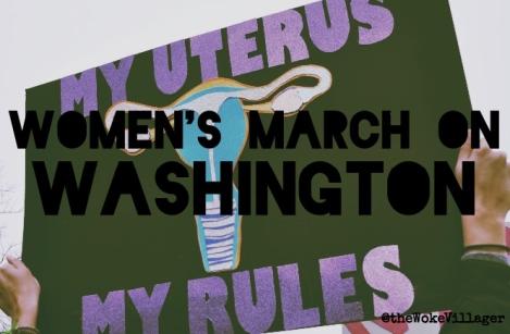 womens march on washington @theWokeVillager